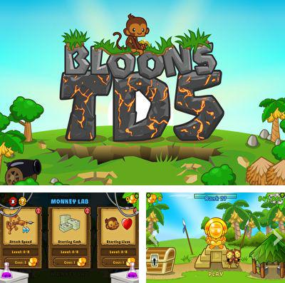 In addition to the game League of Evil for iPhone, iPad or iPod, you can also download Bloons TD 5 for free.
