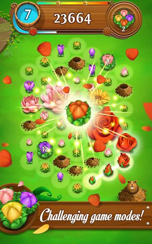 Download Blossom blast: Saga iPhone free game.