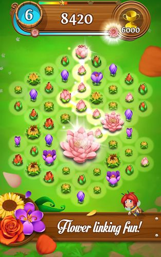 Screenshots of the Blossom blast: Saga game for iPhone, iPad or iPod.