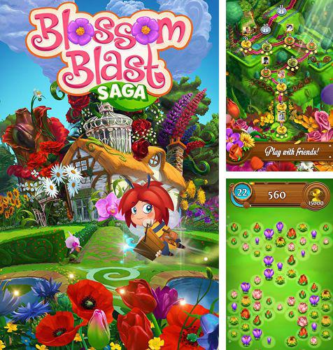 In addition to the game Toad rider for iPhone, iPad or iPod, you can also download Blossom blast: Saga for free.