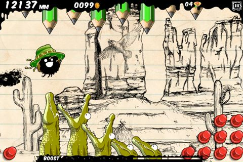Screenshots of the Blot game for iPhone, iPad or iPod.