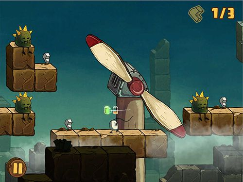 Kostenloser Download von Blown away: Secret of the wind für iPhone, iPad und iPod.