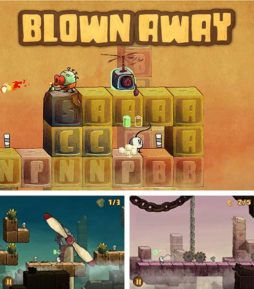 Alem do jogo 60 segundos! Aventura atômica para iPhone, iPad ou iPod, voce tambem pode baixar Soprado: Segredo do vento, Blown away: Secret of the wind gratuitamente.