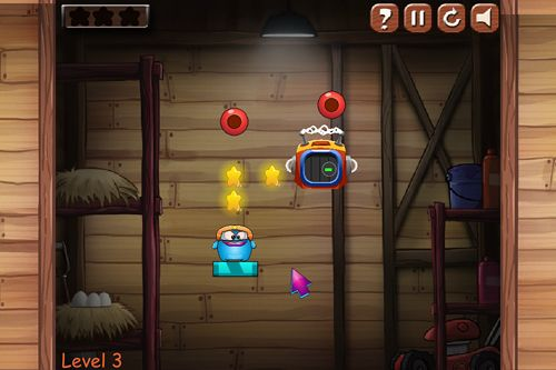 Screenshots of the Blue elf escape adventure game for iPhone, iPad or iPod.