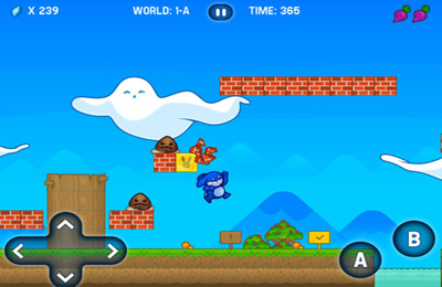 Скачати гру Blue Rabbit's Worlds для iPad.