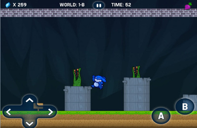 Screenshots of the Blue Rabbit's Worlds game for iPhone, iPad or iPod.
