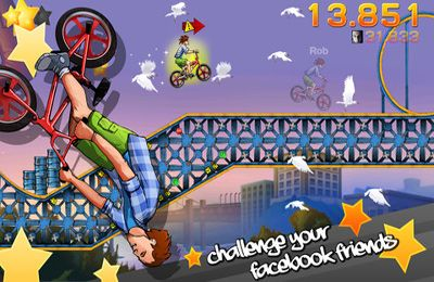 Descarga gratuita de BMX Jam para iPhone, iPad y iPod.