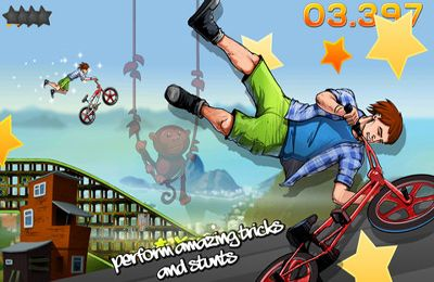 Capturas de pantalla del juego BMX Jam para iPhone, iPad o iPod.