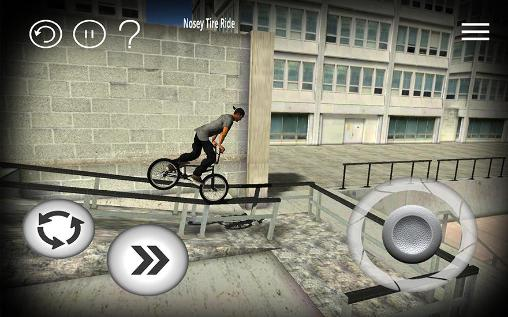 Download BMX Streets iPhone free game.