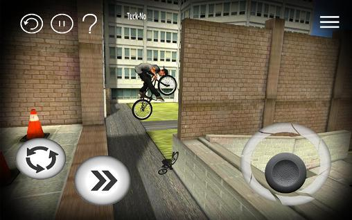 Capturas de pantalla del juego BMX Streets para iPhone, iPad o iPod.