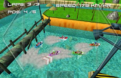 Screenshots vom Spiel Boat Rush ( 3D Racing Games ) für iPhone, iPad oder iPod.