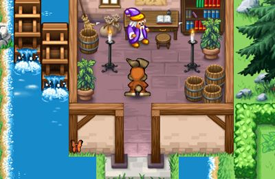Capturas de pantalla del juego Bobby Carrot Forever 2 para iPhone, iPad o iPod.