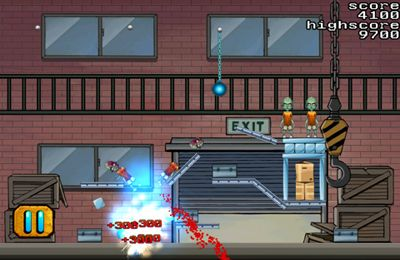 Screenshots of the Bomb Zombie game for iPhone, iPad or iPod.