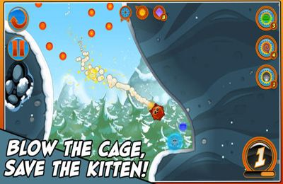 Screenshots of the Bombcats Special Edition game for iPhone, iPad or iPod.