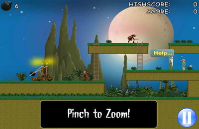 Download Bomber Catapult – Rescue Her iPhone free game.