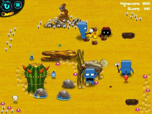 Screenshots of the Bonfire trail game for iPhone, iPad or iPod.