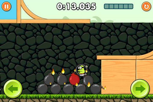 Screenshots do jogo Boom! para iPhone, iPad ou iPod.