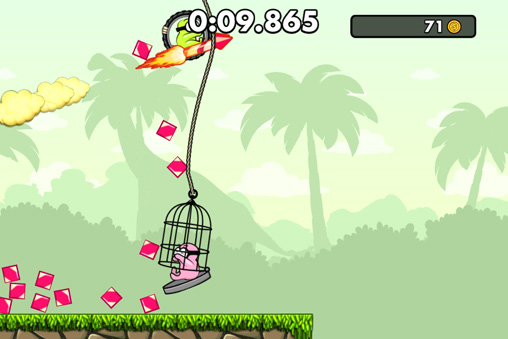 Screenshots of the Boom! game for iPhone, iPad or iPod.