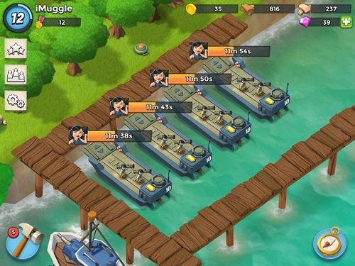 Download Boom beach iPhone free game.