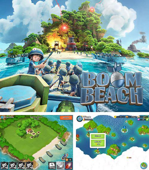 In addition to the game Angel sword for iPhone, iPad or iPod, you can also download Boom beach for free.
