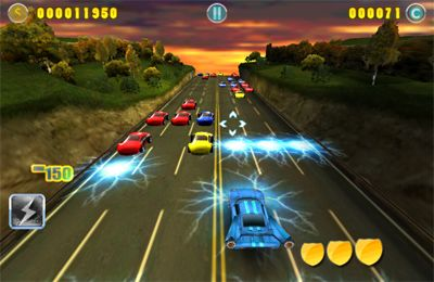 Screenshots of the Boom Boom Racing game for iPhone, iPad or iPod.
