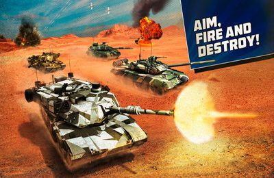 Screenshots of the Boom! Tanks game for iPhone, iPad or iPod.