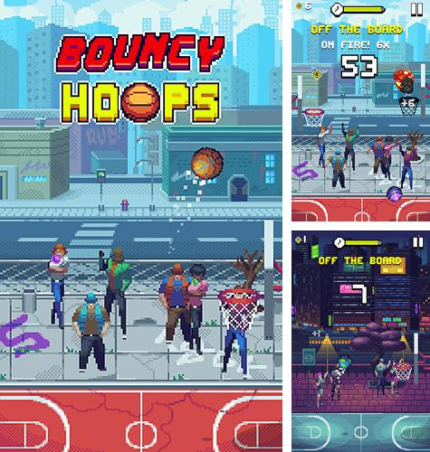 In addition to the game Motorcycle driving school for iPhone, iPad or iPod, you can also download Bouncy hoops for free.