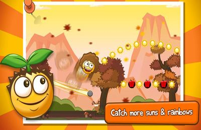 Screenshots of the Bouncy Seed! game for iPhone, iPad or iPod.