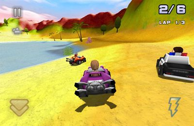 Download Bounty Racer iPhone free game.