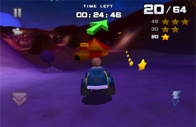 Screenshots of the Bounty Racer game for iPhone, iPad or iPod.