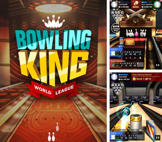 Download Bowling king iPhone free game.