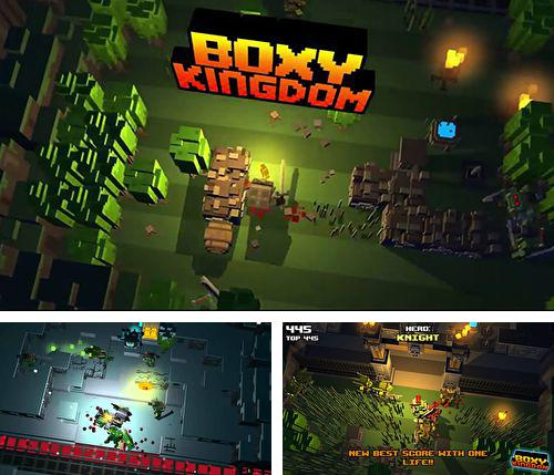 In addition to the game Type: Rider for iPhone, iPad or iPod, you can also download Boxy kingdom for free.