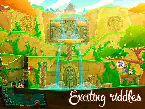 Screenshots do jogo Brave and little adventure para iPhone, iPad ou iPod.