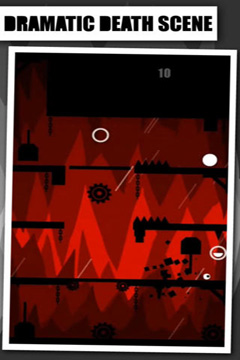 Screenshots of the Brave Bit game for iPhone, iPad or iPod.