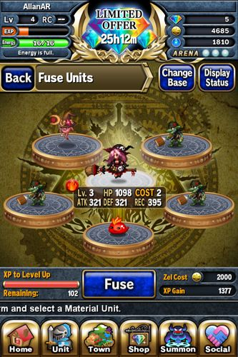 Free Brave frontier download for iPhone, iPad and iPod.
