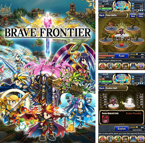 In addition to the game Thomas and friends: Race on! for iPhone, iPad or iPod, you can also download Brave frontier for free.