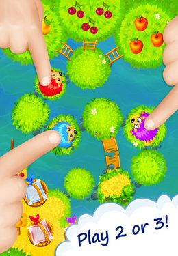 Screenshots of the Brave Hedgehogs game for iPhone, iPad or iPod.