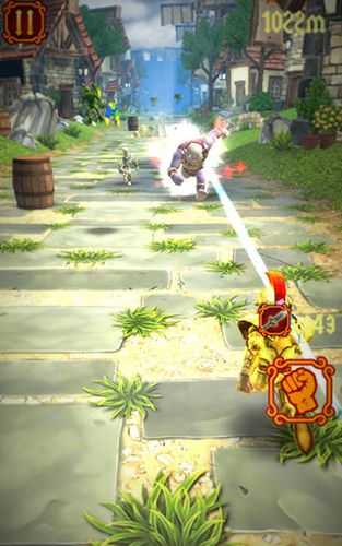 Free Brave knight rush download for iPhone, iPad and iPod.