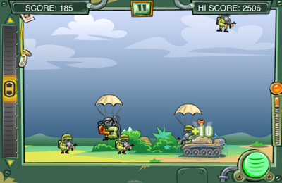 Capturas de pantalla del juego Brave tanker para iPhone, iPad o iPod.