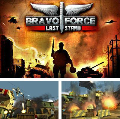 In addition to the game FIFA 16: Ultimate team for iPhone, iPad or iPod, you can also download Bravo Force: Last Stand for free.