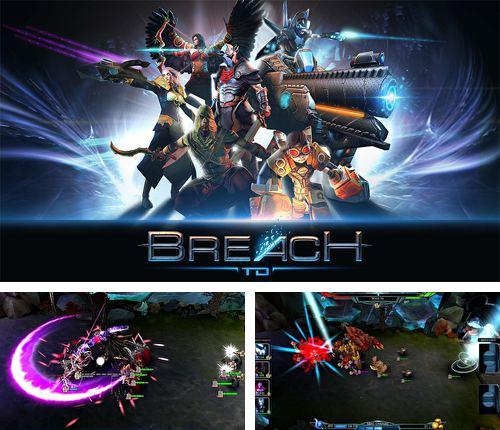 In addition to the game Lumino city for iPhone, iPad or iPod, you can also download Breach for free.