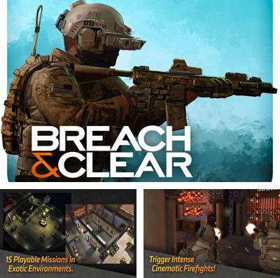 In addition to the game Mini Ninjas for iPhone, iPad or iPod, you can also download Breach & Clear for free.