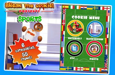 Download Break the Cookie: Sports iPhone free game.
