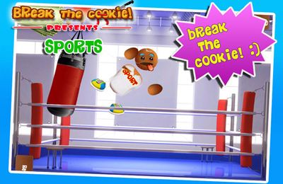 Screenshots of the Break the Cookie: Sports game for iPhone, iPad or iPod.