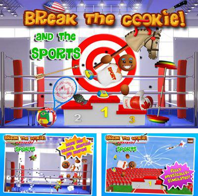 In addition to the game Aero smash: Open fire for iPhone, iPad or iPod, you can also download Break the Cookie: Sports for free.