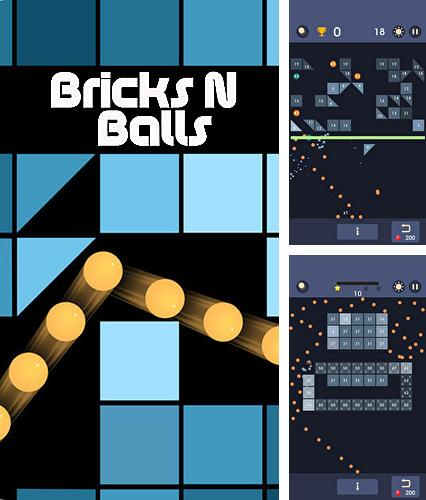 In addition to the game Creatures: Mania for iPhone, iPad or iPod, you can also download Bricks n balls for free.