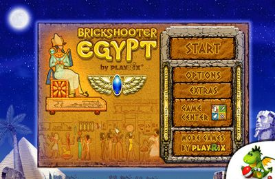Screenshots of the Brickshooter Egypt Premium game for iPhone, iPad or iPod.