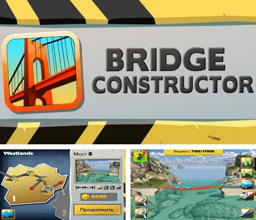 In addition to the game Megapolis for iPhone, iPad or iPod, you can also download Bridge Constructor for free.