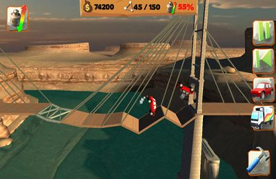 Download Bridge Constructor Playground iPhone free game.