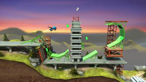 Download Bridge constructor: Stunts iPhone free game.